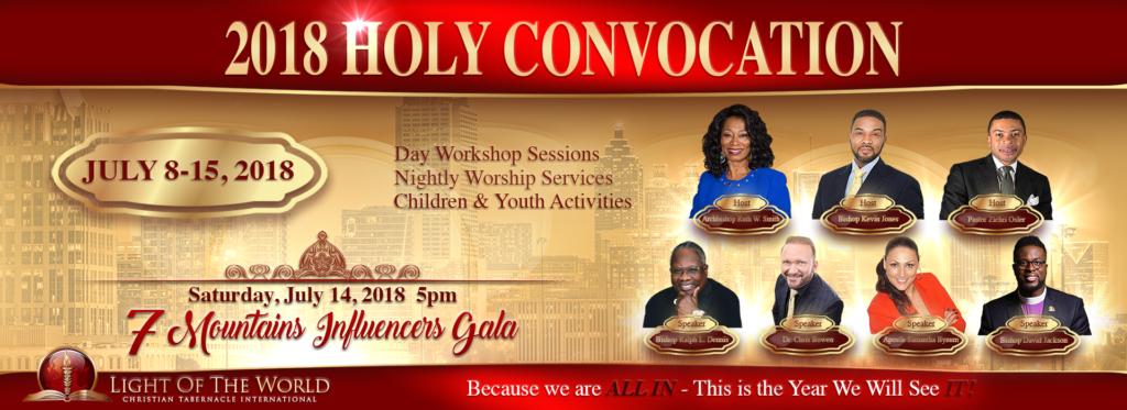 2018 holy convocation  u2013 light of the world christian